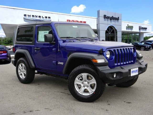 fdfa5543 New 2019 Jeep Wrangler SPORT S 4X4 Sport Utility in Virginia | Berglund  Automotive Group serving Roanoke Christiansburg and Lynchburg Areas