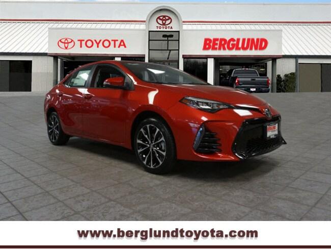 New 2019 Toyota Corolla Xse Sedan Virginia Berglund Toyota In