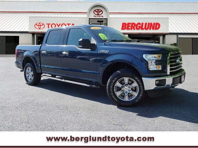 2016 Ford F-150 XLT 4x4 Supercrew Cab Styleside 5.5 4x4 XLT  SuperCrew 5.5 ft. SB