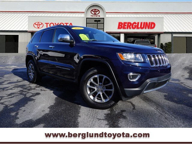 2015 Jeep Grand Cherokee Limited 4x4 4x4 Limited  SUV