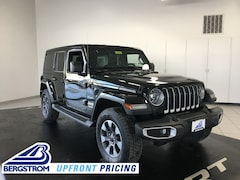 New 2018 Jeep Wrangler UNLIMITED SAHARA 4X4 Sport Utility 18587 in Oshkosh, WI