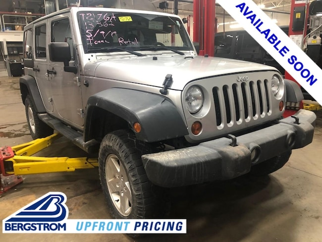Pre-Owned  2012 Jeep Wrangler Unlimited Sport SUV TI2176A For Sale in Oshkosh, WI