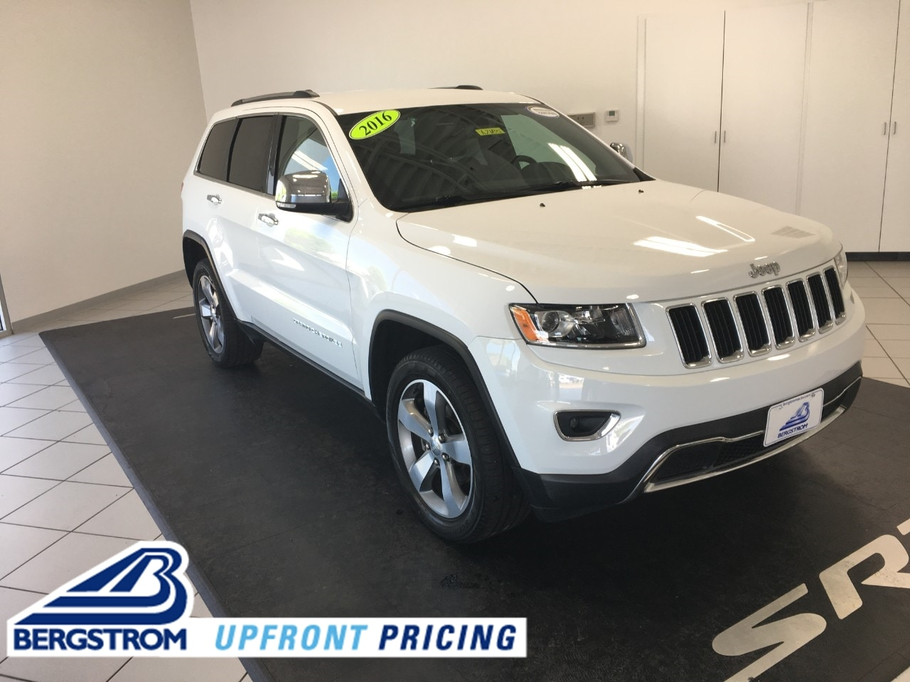 2016 Jeep Grand Cherokee Limited 4x4 SUV A2185
