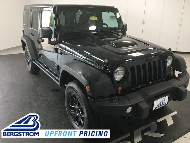 Pre-Owned  2013 Jeep Wrangler Unlimited Sahara SUV TI2177A For Sale in Oshkosh, WI