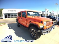 New 2018 Jeep Wrangler UNLIMITED SAHARA 4X4 Sport Utility 18493 in Oshkosh, WI