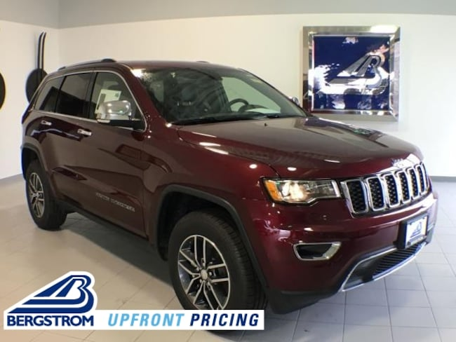 New 2018 Jeep Grand Cherokee LIMITED 4X4 Sport Utility 1C4RJFBG2JC468118 For Sale in Kaukauna, WI