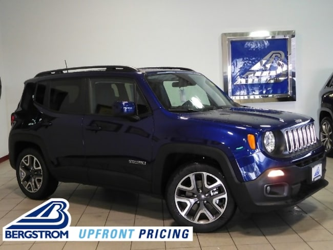New 2018 Jeep Renegade LATITUDE 4X2 Sport Utility ZACCJABBXJPG96330 For Sale in Kaukauna, WI