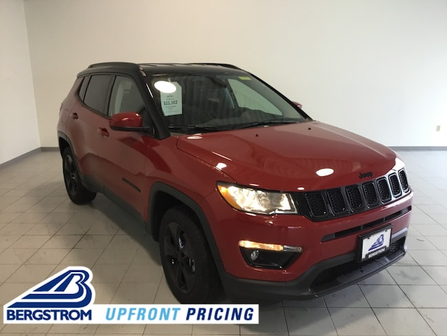 New 2018 Jeep Compass ALTITUDE 4X4 Sport Utility 3C4NJDBB0JT400234 For Sale in Kaukauna, WI
