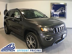 New 2019 Jeep Grand Cherokee LIMITED 4X4 Sport Utility 1C4RJFBG7KC571231 near Appleton