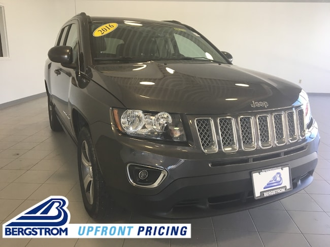 Pre-Owned 2016 Jeep Compass 4WD 4dr High Altitude Edition SUV For Sale in Kaukauna, WI
