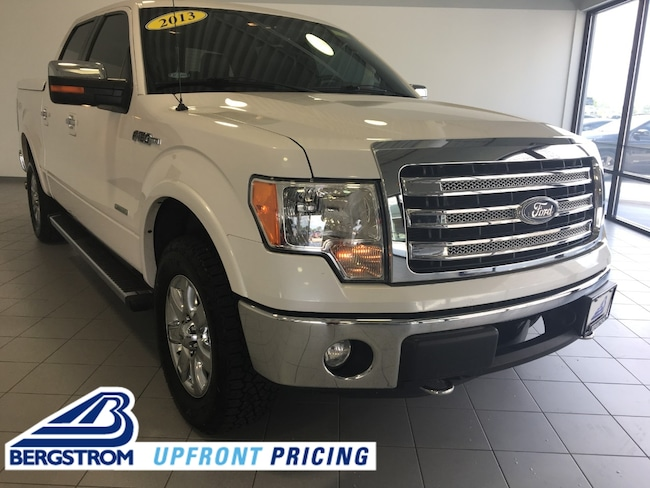 Pre-Owned 2013 Ford F-150 4WD Supercrew 145 Lariat Truck SuperCrew Cab For Sale in Kaukauna, WI