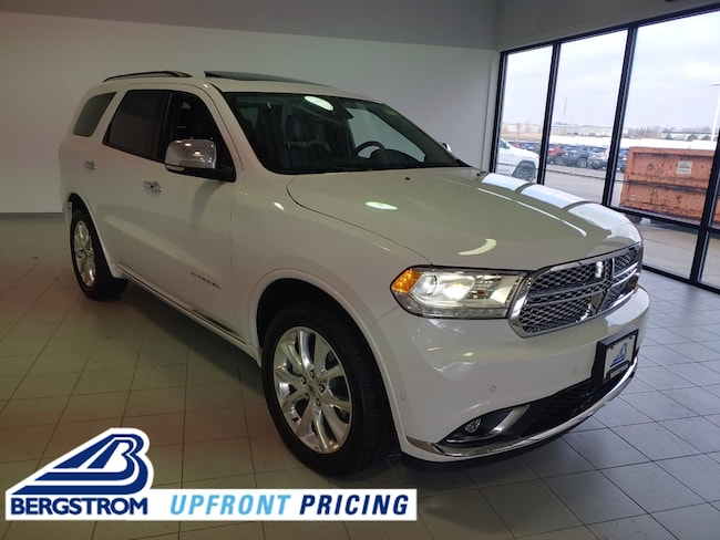 New 2019 Dodge Durango CITADEL AWD Sport Utility 1C4SDJET0KC647845 For Sale in Kaukauna, WI