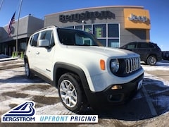 New 2018 Jeep Renegade LATITUDE 4X2 Sport Utility ZACCJABB4JPJ68442 near Appleton
