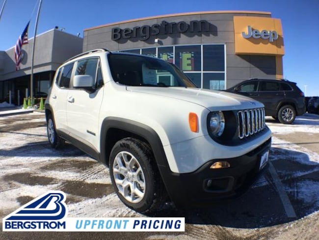 New 2018 Jeep Renegade LATITUDE 4X2 Sport Utility ZACCJABB4JPJ68442 For Sale in Kaukauna, WI