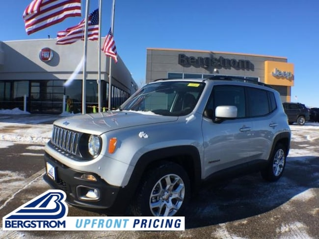 New 2018 Jeep Renegade LATITUDE 4X2 Sport Utility ZACCJABB1JPJ68981 For Sale in Kaukauna, WI