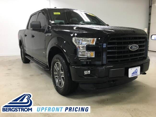 Pre-Owned 2016 Ford F-150 4WD Supercrew 145 XLT Truck SuperCrew Cab For Sale in Kaukauna, WI