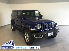 New 2018 Jeep Wrangler UNLIMITED SAHARA 4X4 Sport Utility 1C4HJXEN2JW325826 near Appleton
