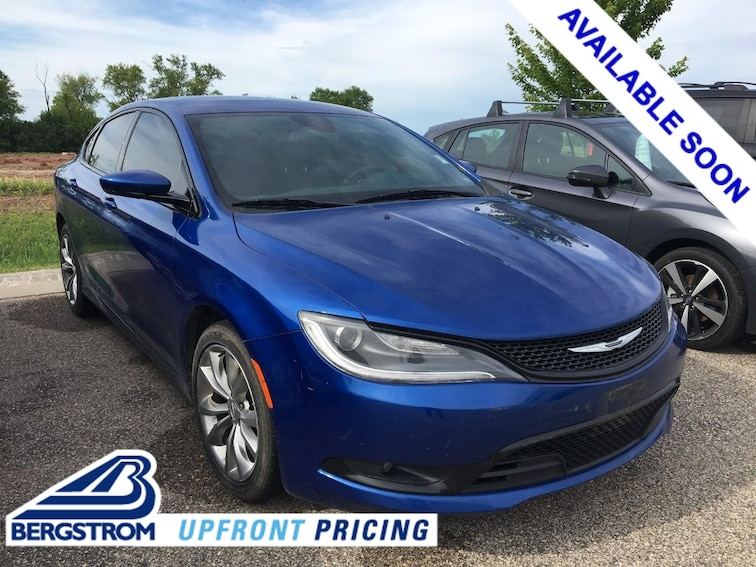 2015 Chrysler 200 For Sale >> Used 2015 Chrysler 200 For Sale In Oshkosh Wi Near Fond Du Lac Ripon Waupon Wi Vin 1c3ccccg4fn519454