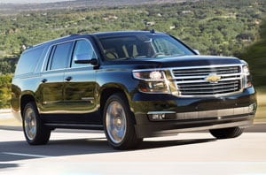 2018 Chevy Suburban Side