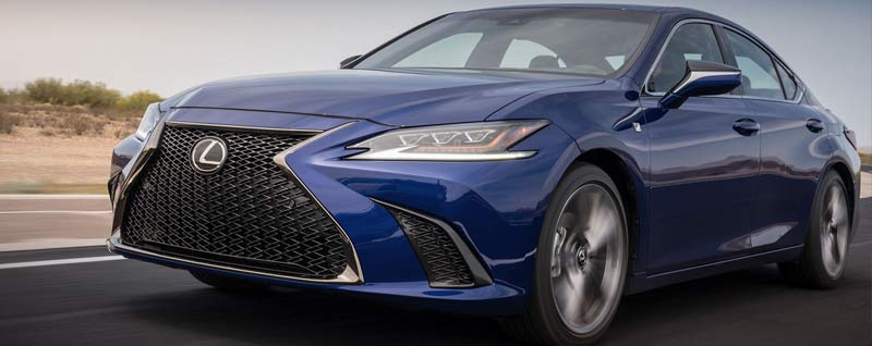 What Are The Trims Of The 2019 Lexus ES?
