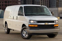 Compare 2021 Chevrolet Express