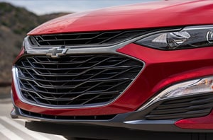 2019 Chevy Malibu Exterior Front