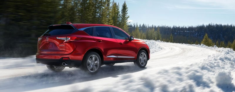Acura RDX Snow Winter Preparation