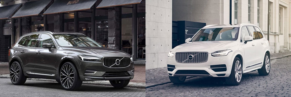 Compare The 2018 Volvo Xc60 And Xc90 Plano Tx