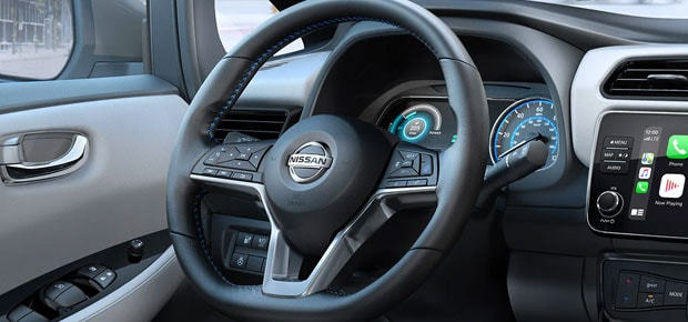 2021 Nissan Leaf Interior