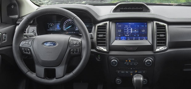 2021 Ford Ranger Interior