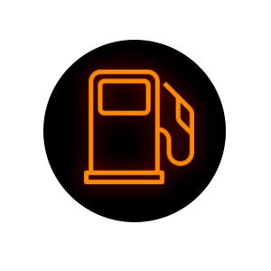 Low Fuel Level Warning Light