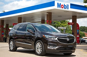 Mobil Gas Station Buick