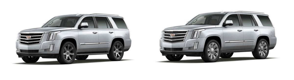 2020 Cadillac Escalade 4WD Luxury vs 2020 Cadillac Escalade 4WD Premium Luxury