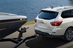 2019 Nissan Pathfinder Towing