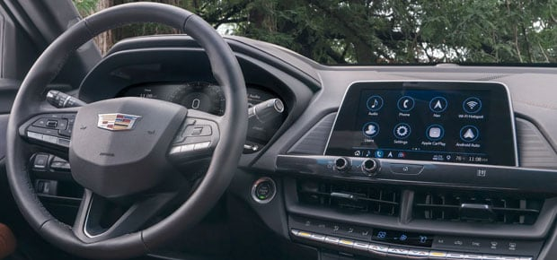 2021 Cadillac CT4 & CT4-V Interior