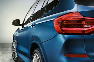 2018 BMW X Series Rear