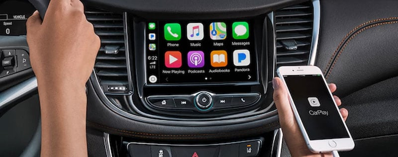 Apple CarPlay with iPhone in Chevrolet