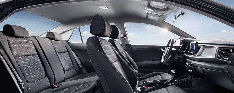 2019 Kia Rio Spacious Interior