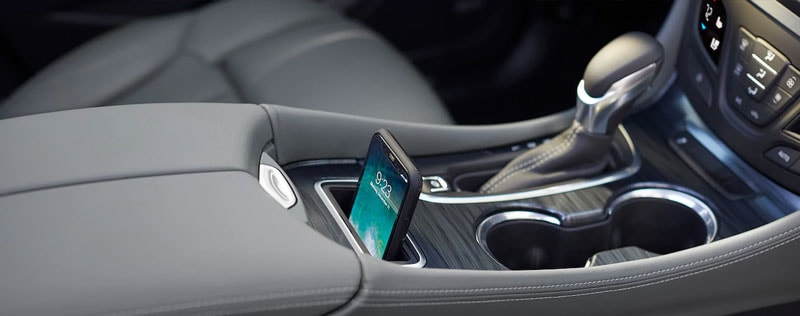 2019 Buick Envision Wireless Charging Area