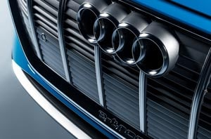 Audi Front Grille, Engine