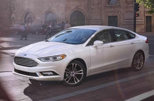 2018 Ford Fusion Side