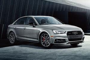2018 Audi A4 Front