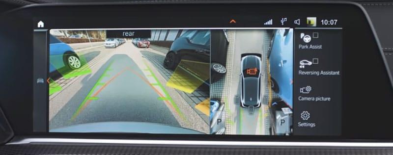 BMW Parking Assistant Camera