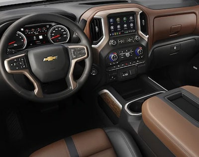 2019 Chevy Silverado Work Truck Interior