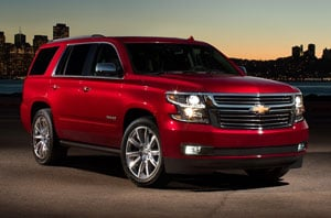 2018 Chevy Tahoe Front