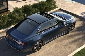 2019 Lincoln Continental Exterior Rear