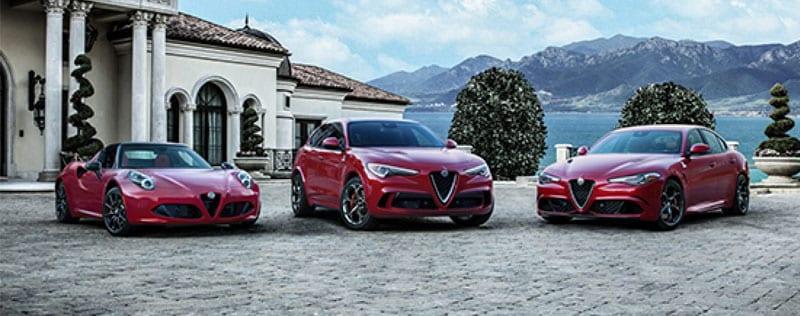 Alfa Romeo Lineup Clean