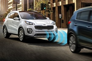 2019 Kia Sportage Automatic Emergency Braking