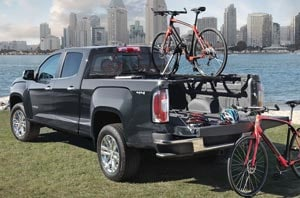 2019 GMC Canyon Rear Truckbed
