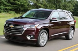 Compare 2021 Chevrolet Traverse